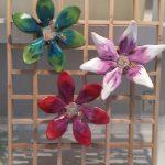 Floral Lattice Sculpture