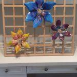 Lattice Flower Sculpture