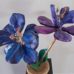 Lapis Lazuli Flower Sculpture