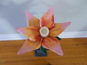 Pink Flower Centre Piece
