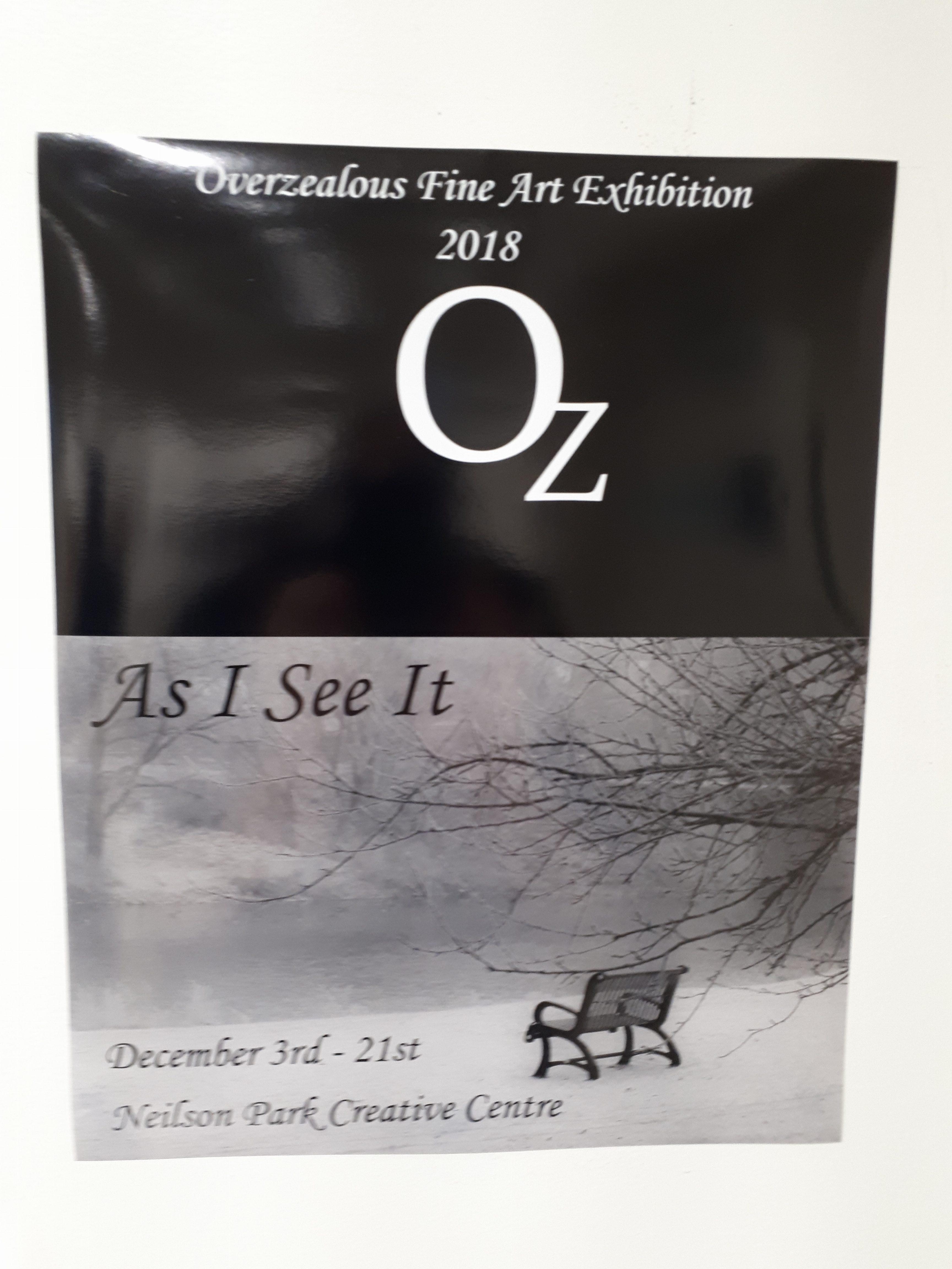 Overzealous Fine Art Exhibition 2018
